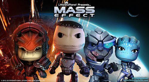 Aggiornamento LittleBigPlanet: i DLC di Mass Effect disponibili da questa settimana