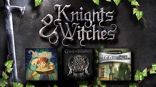 """Gli sconti """"Cavalieri & Streghe"""" da oggi su PlayStation Store"""