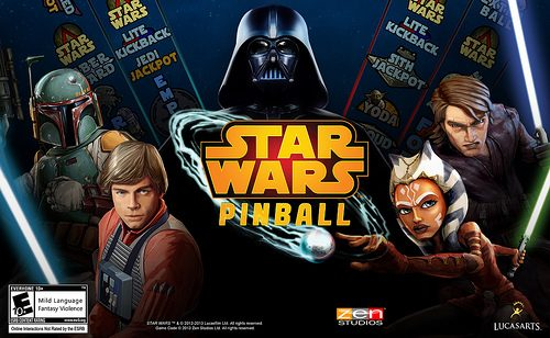Star Wars Pinball: Balance of the Force – Il tavolo di Darth Vader