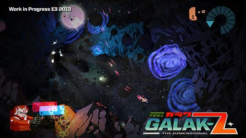 Galak-Z reinventa lo sparatutto spaziale a 16 bit per PS4
