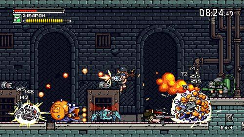 """Lo sparatutto """"corri e spara"""" Mercenary Kings sferra l'assalto su PS4"""