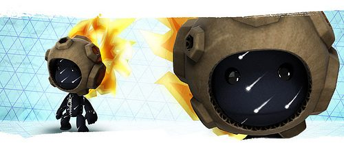 Aggiornamento LittleBigPlanet: Sackboy tra le stelle!