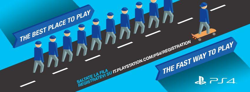 Salta la fila e prova PS4 alla Games Week e a Lucca Comics & Games!