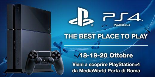 PlayStation 4 sta arrivando – Scoprila a Roma!
