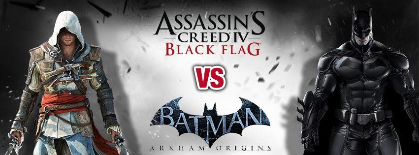 Dibattito del Weekend – Assassin's Creed IV Black Flag o Batman Arkham Origins?