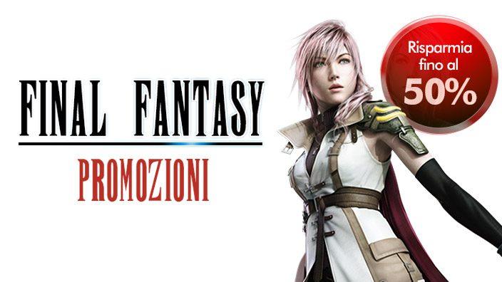 Grandi saldi per i classici di Final Fantasy a partire da oggi