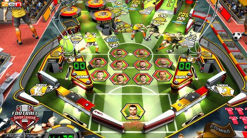 GOOOOOOL! Super League Football presto in arrivo su Zen Pinball 2!