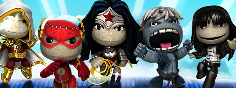 Aggiornamento LittleBigPlanet: DC Comics Costume Pack 4 in arrivo questa settimana