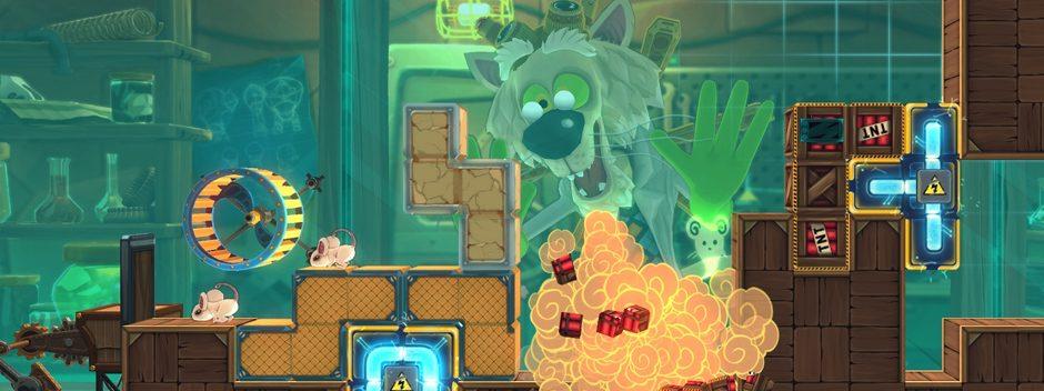 MouseCraft, un rompicapo al formaggio, prossimamente su PS Vita