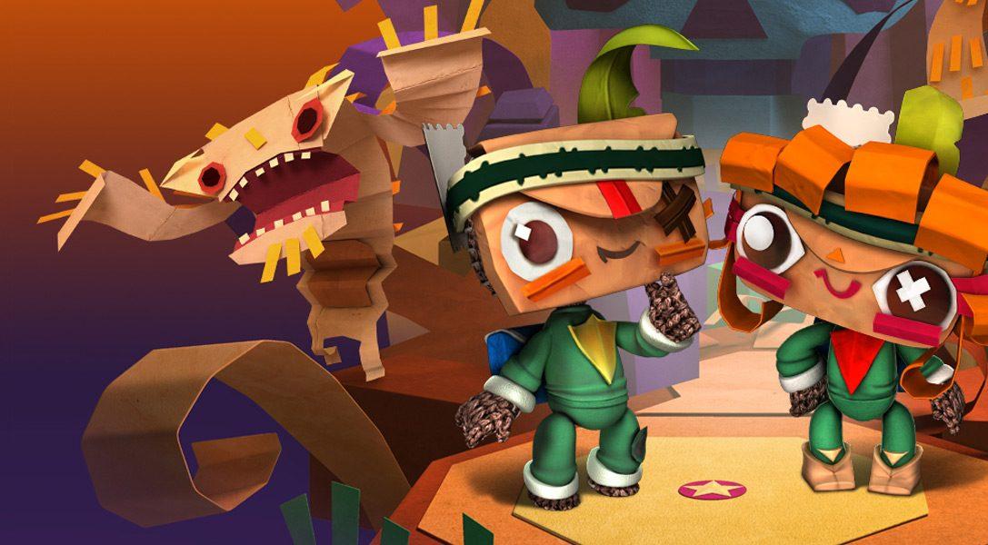 Aggiornamento LittleBigPlanet: questa settimana, un nuovo Tearaway DLC tutto da scartare