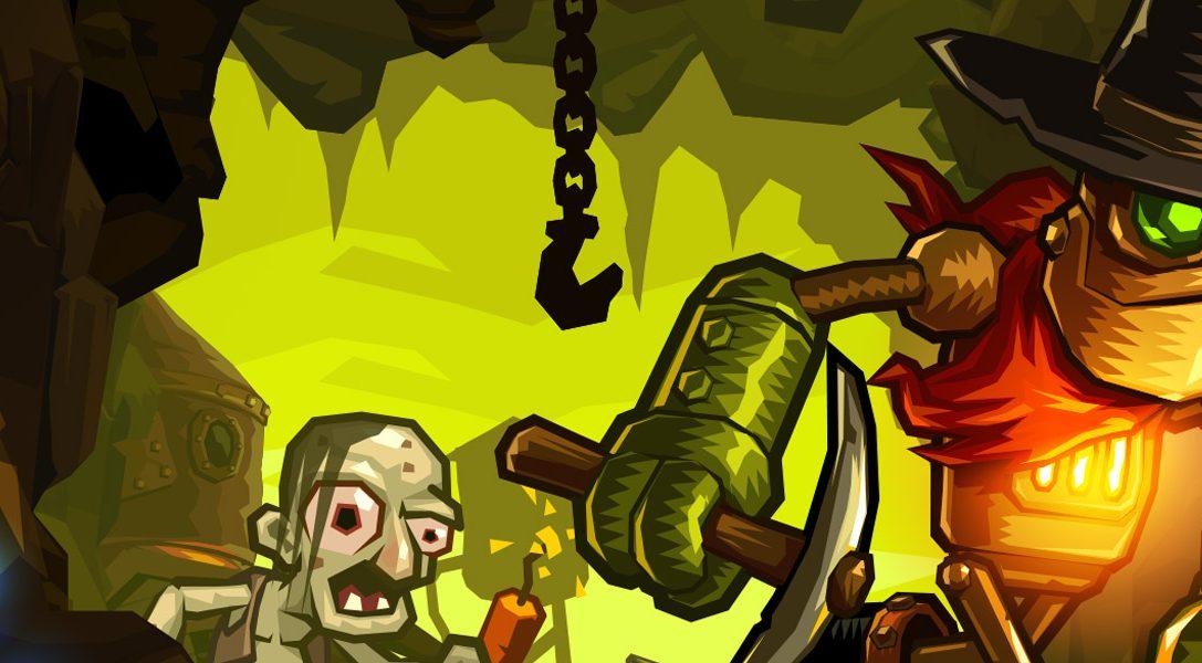 Il pittoresco platform SteamWorld Dig in arrivo su PS4 e PS Vita