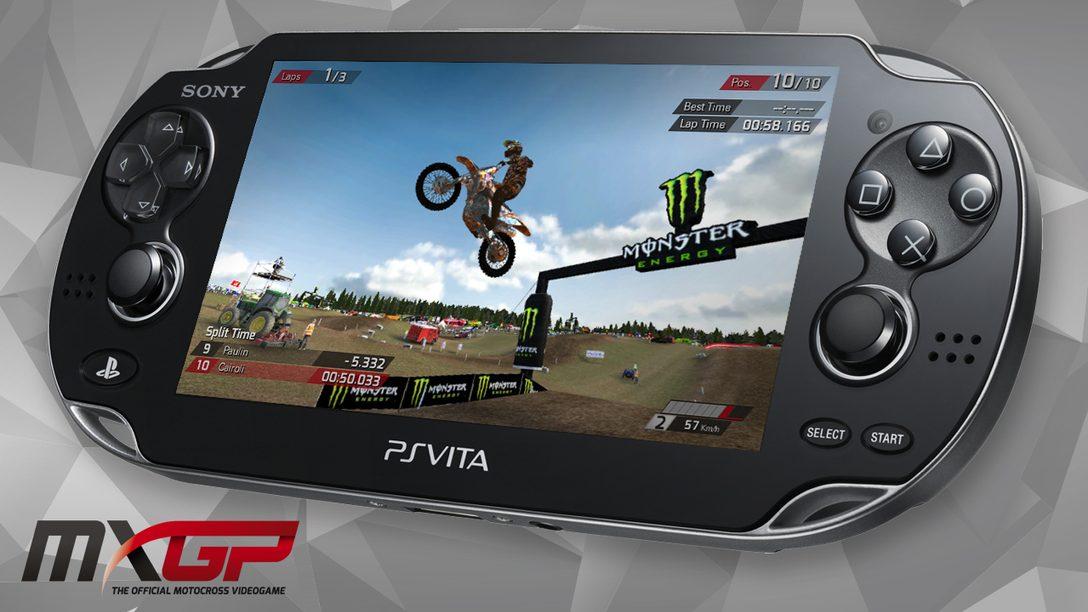 MXGP – The Official Motocross Videogame sfreccia su PlayStation Vita