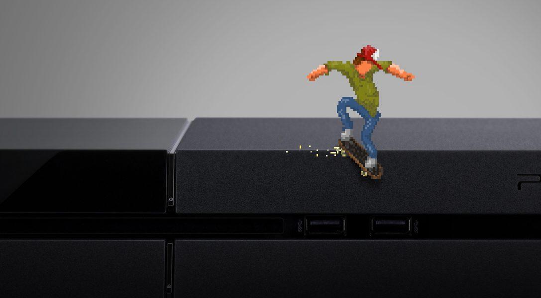 L'acclamato skater OlliOlli è pronto a scatenarsi su PS4 e PS3
