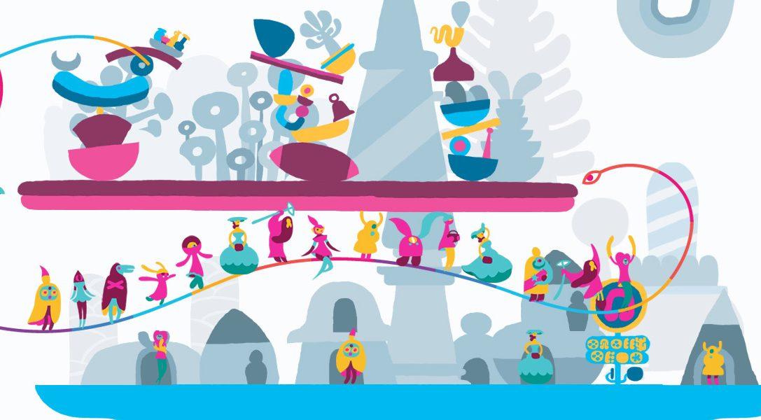 Il nuovo trailer di Hohokum mostra lo sfavillante scenario Fun Fair