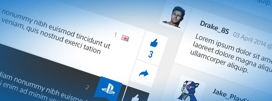 Nuove funzionalità ai commenti del PlayStation Blog in arrivo oggi