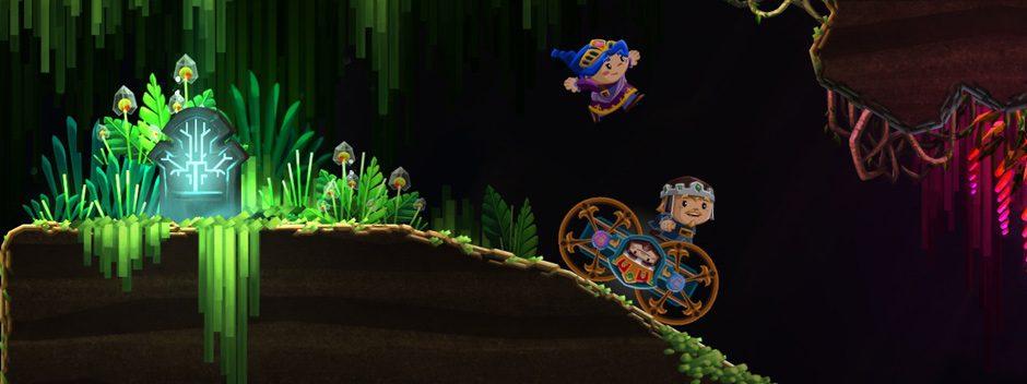 Il platform adventure coop Chariot presto in arrivo su PS4