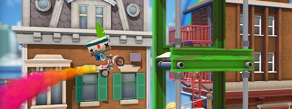 Scopri tutti i dettagli su Joe Danger per PS Vita