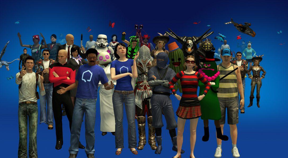 Aggiornamento PlayStation®Home: saluto petto contro petto!