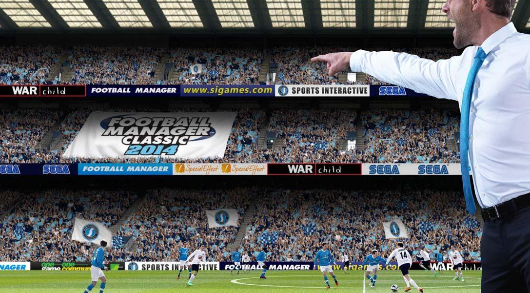 Football Manager Classic 2014 scende in campo oggi su PS Vita