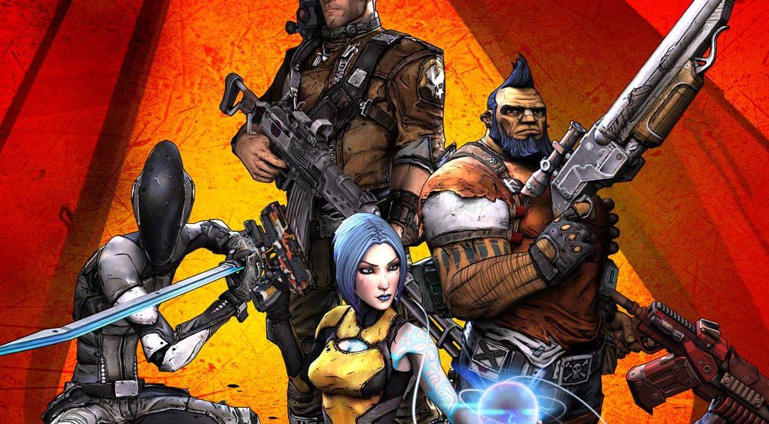Borderlands 2 per PS Vita in uscita a maggio!