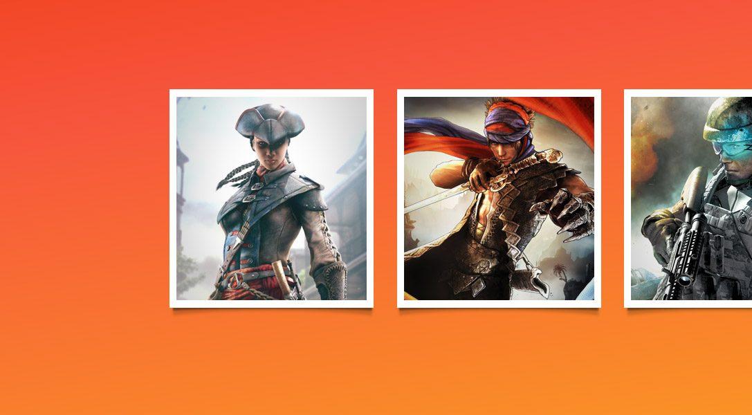 Al via le promozioni su Assassin's Creed, Persona 4, Rayman e tanto altro ancora