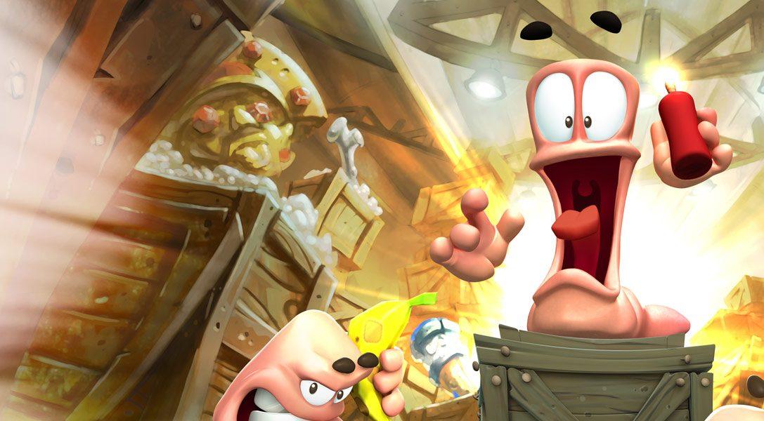 Worms Battlegrounds spicca il volo su PS4 questo mese