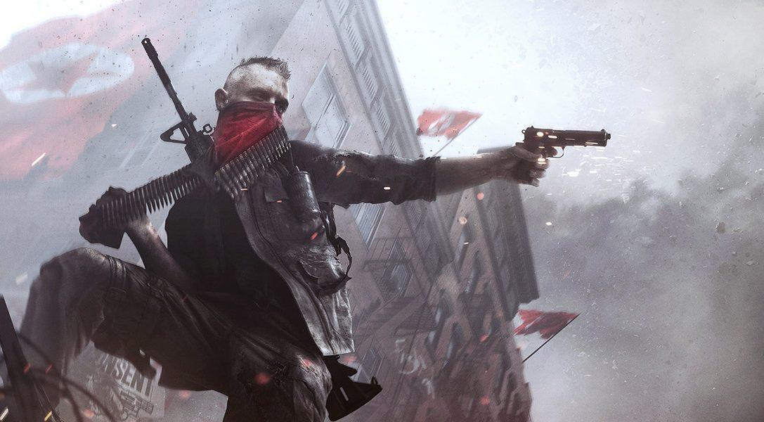 Homefront: The Revolution presentato per PS4