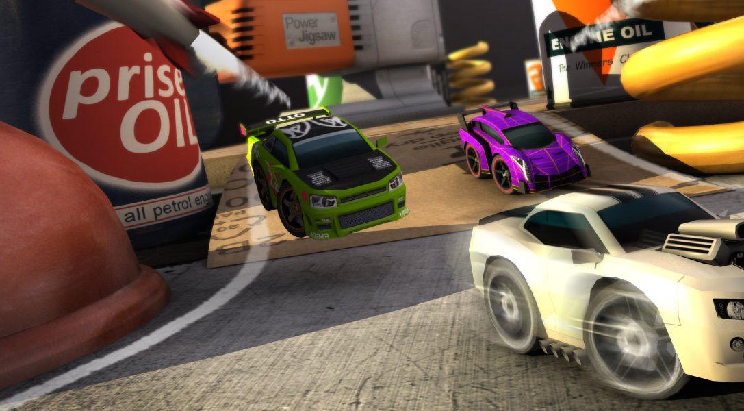Table Top Racing scalderà i motori su PS Vita il prossimo mese