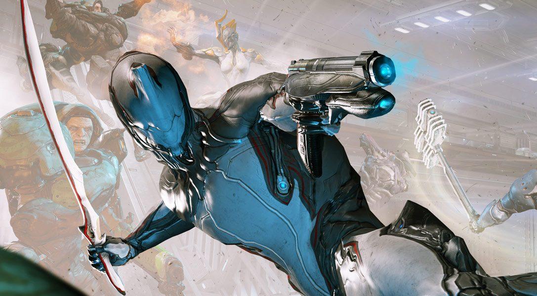 Aggiornamento di Warframe per PS4, con nuove sfide e nuove armi