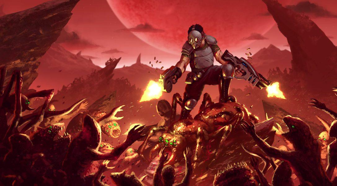 Lo shooter frenetico con visuale dall'alto Crimsonland arriva su PS4 questo mese