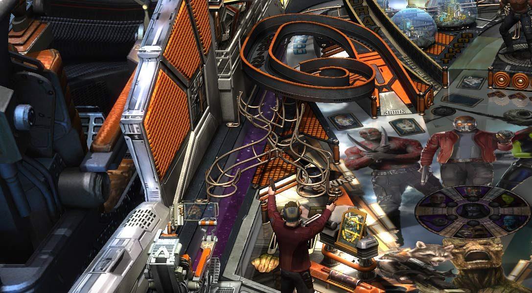 Marvel Guardiani della Galassia approda in Zen Pinball 2 la prossima settimana