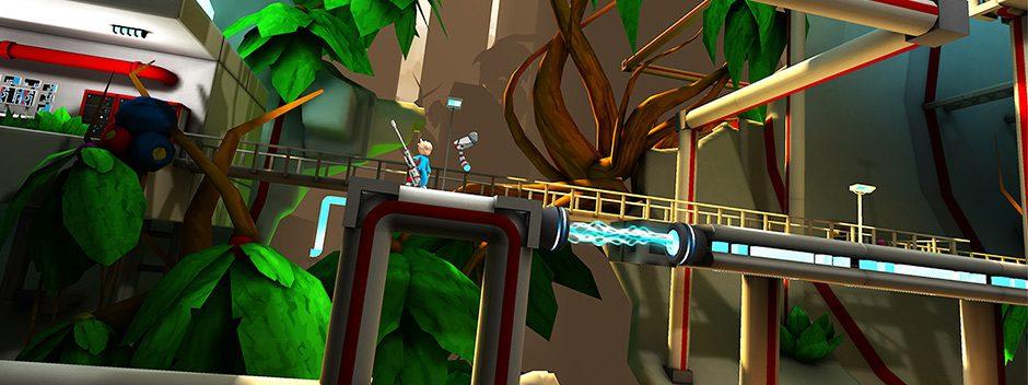 Nuovo trailer per l'avventura per PS Vita Kick & Fennick