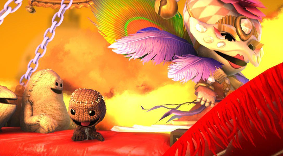 LittleBigPlanet 3: dettagli sui nuovi strumenti di creazione e sulle nuove funzioni