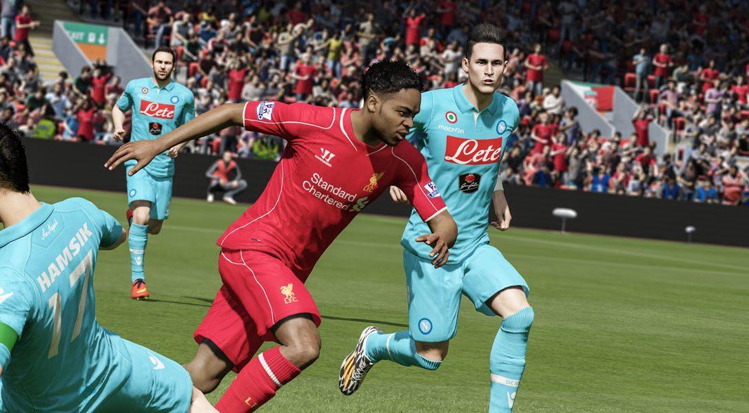 L'influenza degli ultimi Mondiali su FIFA 15 per PS4.