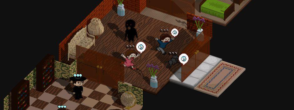Annunciata l'uscita per PS Vita del rompicapo soprannaturale Poltergeist: A Pixelated Horror