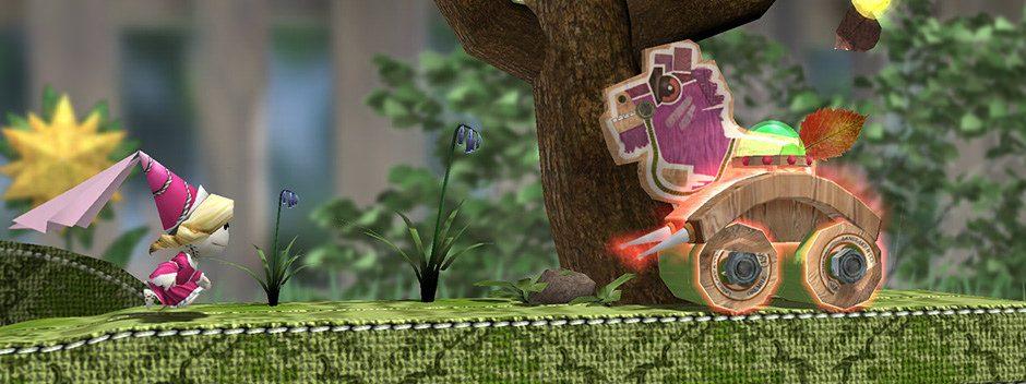 Il platform Run Sackboy! Run! annunciato per PS Vita e dispositivi mobili