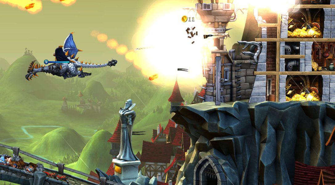 CastleStorm: Definitive Edition, un intrigante mix di azione e strategia disponibile domani per PS4