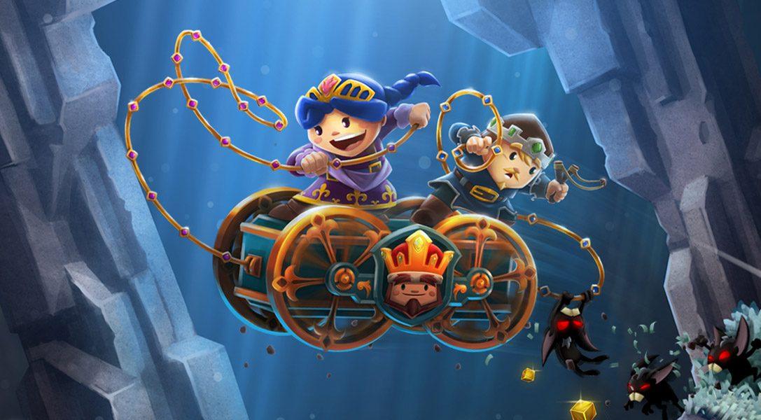 Chariot, gioco cooperativo a piattaforme, arriva su PS4 il mese prossimo