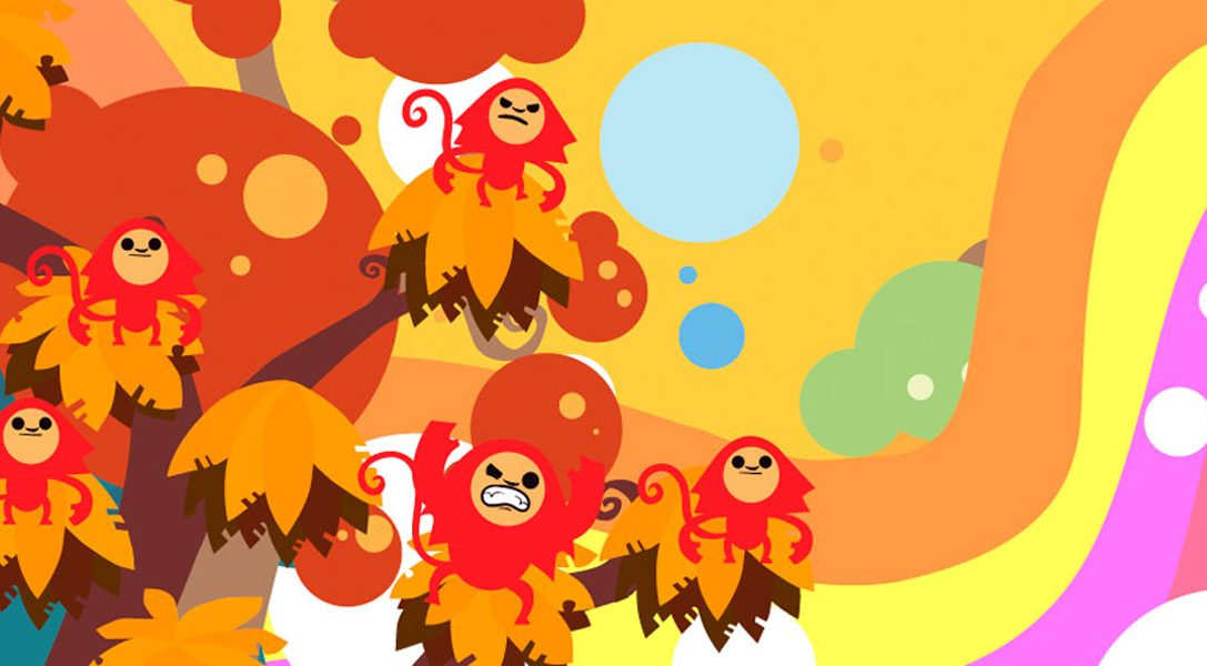 Jungle Rumble, il gioco d'azione ritmica a suon di banane, sta per arrivare su PS Vita
