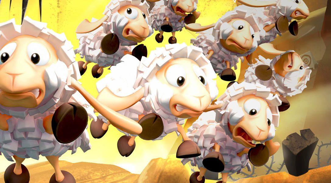 Flockers, dagli autori di Worms, arriva su PS4 la prossima settimana