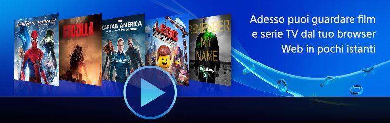 Riproduci film direttamente dallo Store Web a partire da oggi