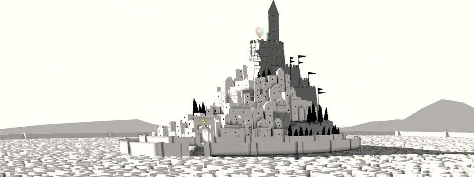 The Unfinished Swan vola su PS4 e PS Vita la prossima settimana