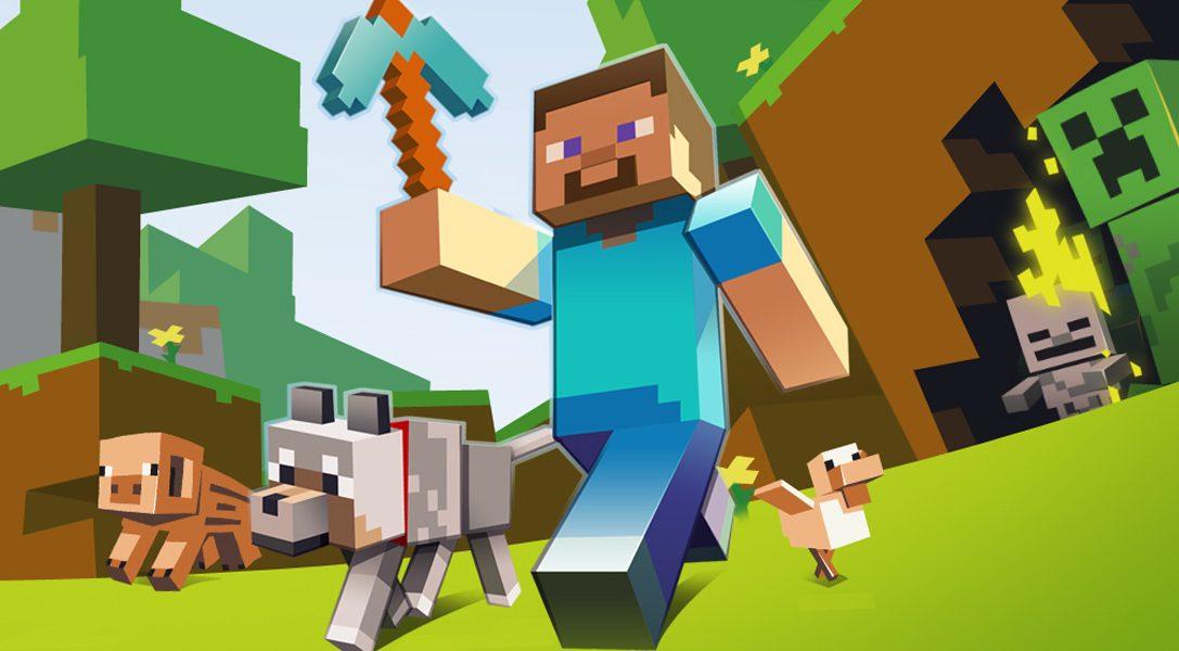 Minecraft PS Vita Edition arriva sul PlayStation Store la prossima settimana