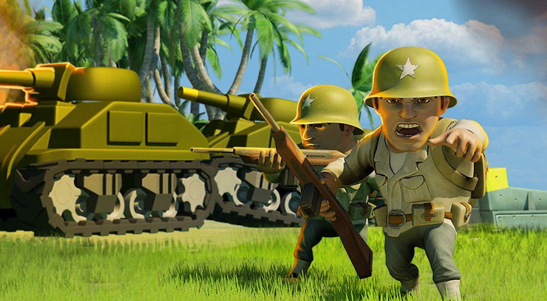 Il gioco di azione/strategia free-to-play Battle Islands sbarcherà sulla PS4 domani