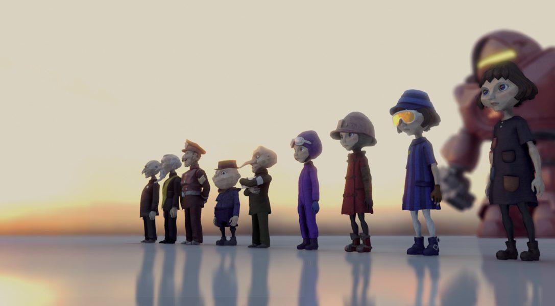 La creazione dell'insolita e stupefacente grafica di The Tomorrow Children per PS4