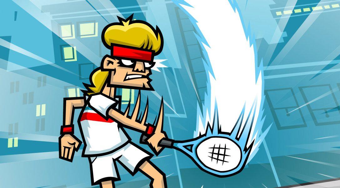Somministra un po' di sana giustizia con Tennis in the Face, ora disponibile per PS4