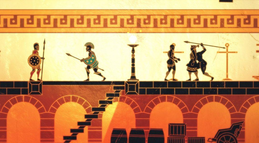 Apotheon, il gioco a scorrimento laterale ispirato alla mitologia greca, arriva su PS4 nel gennaio 2015
