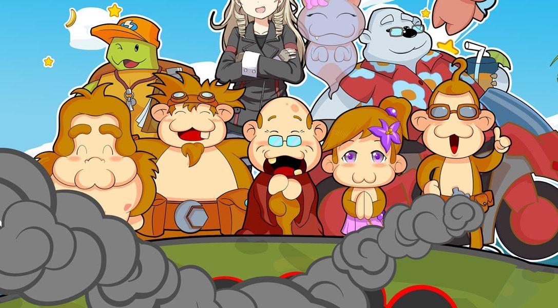 L'originale puzzle-platform Baboon! in uscita per PS Vita