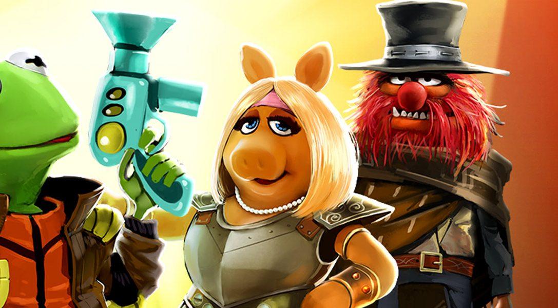 I Muppet: Avventure al Cinema disponibile da oggi su PS Vita