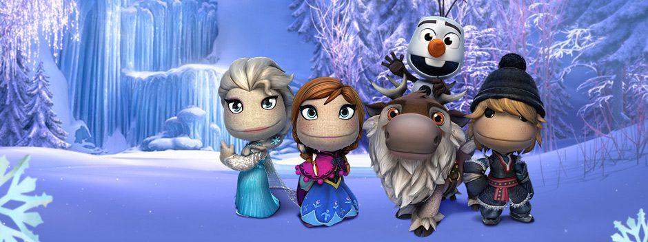 LittleBigPlanet riabbraccia l'universo Disney: svelato il pack costumi di Frozen